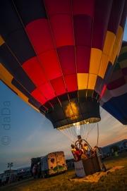 Dusk Balloon Flame, USA
