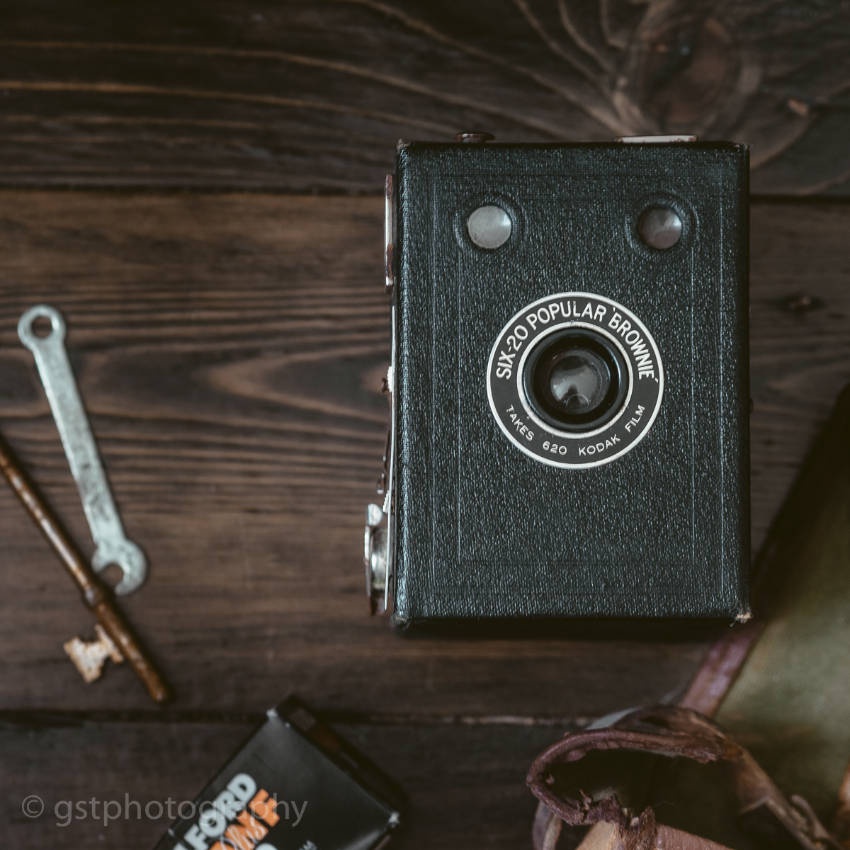 Box Brownie Camera