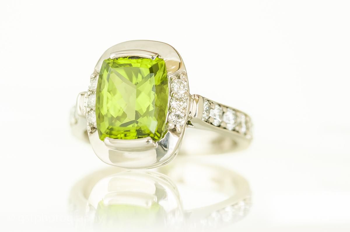 Westphal custom Jewelery Emerald Ring