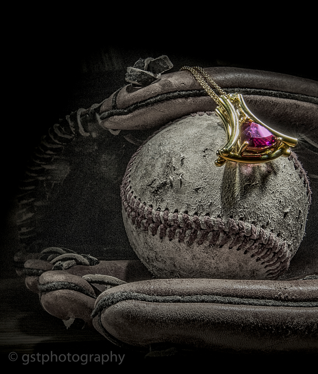 Baseball + Westphal Custom Jewelery Necklace