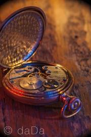 Pocket Watch, Lightpainted