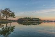 Sunset & Geese, USA