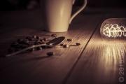 coffee and light