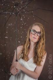 Umbrella & Girl, USA