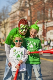Family, St Patricks Day, USA
