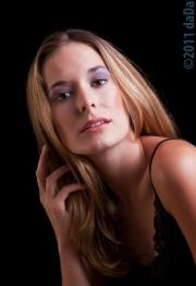Model & hair, studio