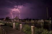 St Michaels Lightning, USA
